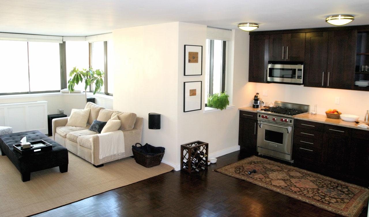 Small Basement Kitchen Basement Apartment Windows Furnishing A Small Room